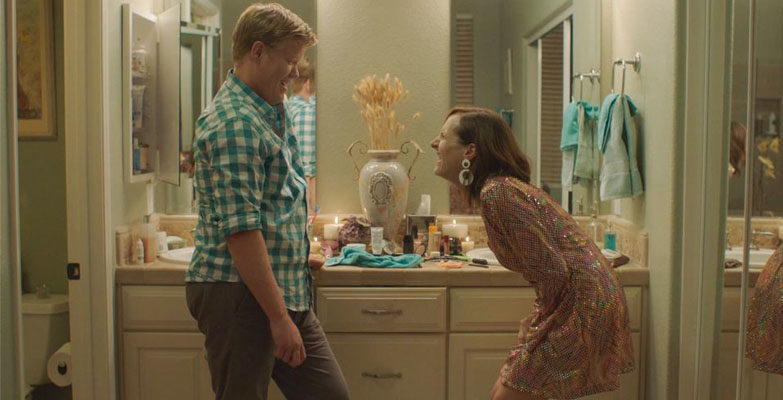 """Editor Patrick Colman spent time finding the perfect pacing to highlight stars Jesse Plemons (left) and Molly Shannon (right) in """"Other People."""" Photo: Vertical Entertainment."""