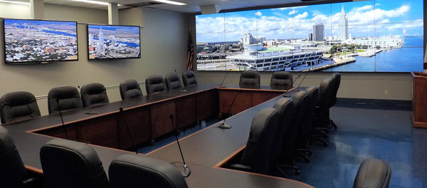 Christie Video Wall Technology Installed in Mobile Police Department Joint  Operations Center | Creative Content Wire